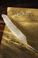 Cómo escribir una constitución personal