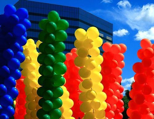 Información sobre los diferentes colores de los globos de látex