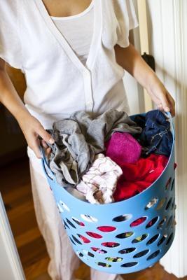 Cómo reciclar cestos de lavandería