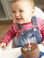 Las ideas de imagen para el primer cumpleaños de un bebé