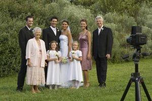 Cómo crear una presentación de imágenes para una recepción de boda