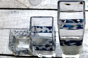 Tipos de cristalería que tienen puntos de estrés