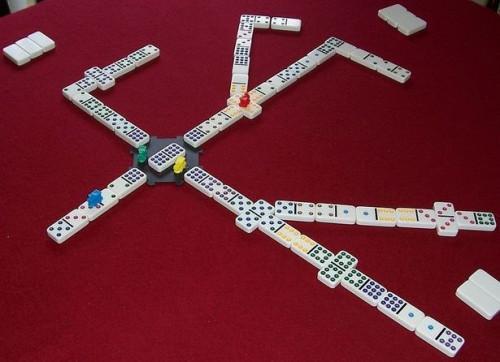 Reglas para jugar mexicano tren dominó Juego