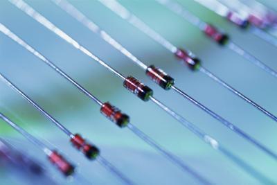 Como prueba de diodos: Los diodos de silicio