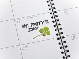 Diversión del día de San Patricio Actividades para grupos de niños