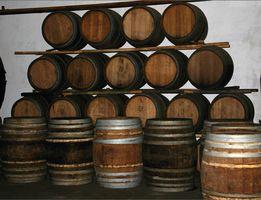 Regalos del barril de vino