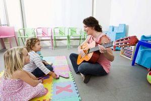Canciones para niños en edad preescolar con la repetición