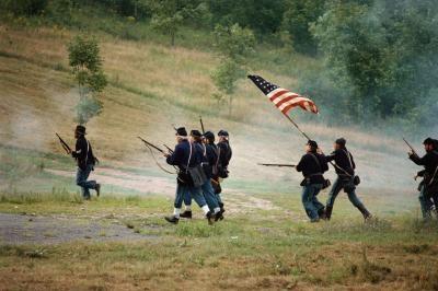 Similitudes entre la Unión y la bandera de la bandera confederada