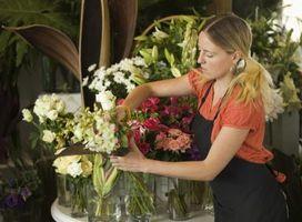 Cómo iniciar un negocio floral de la boda