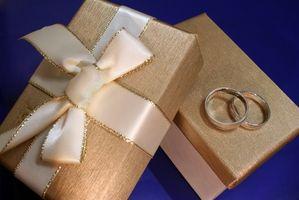 Protocolo para los regalos de boda