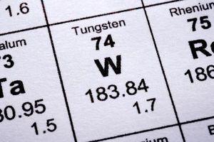 Propiedades de acero de tungsteno