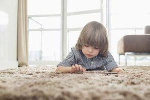 Alfombras no tóxicos para habitaciones infantiles