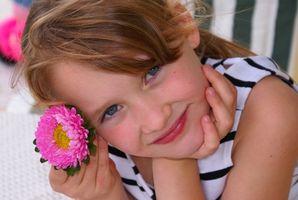 Regalos Cute niña de las flores