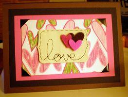 Las ideas del libro de recuerdos tarjeta del día de San Valentín