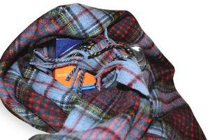 Cómo envolver como regalo una bufanda