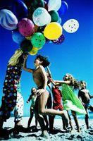 Qué hacer en la playa para un cumpleaños