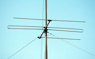 Caseras equipo de radio-antenas