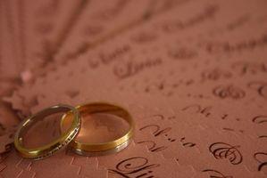 Cómo enviar boda invita a famosos