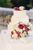 Aduanas boda americana de las flores