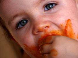 Los alimentos Gerber comunes que causan erupciones en bebés