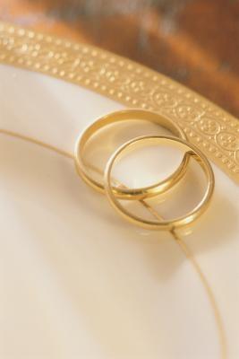 Decoración de una sala para un aniversario de boda 50 º