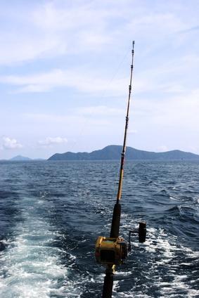 Casera de almacenamiento pesca para barcos