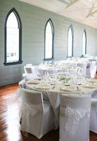 Decoraciones de la tabla de la boda de bricolaje
