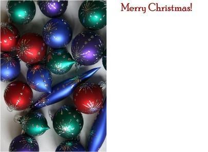 Cómo hacer cajas Fuera de tarjetas de Navidad viejas