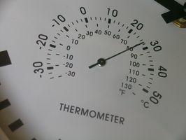 Cómo calcular los grados de calentamiento en el Día