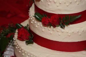 Suministros para hacer tortas boda falsa