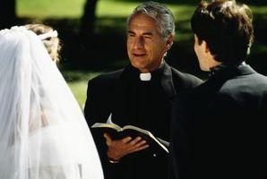 Las oraciones por una pareja de novios