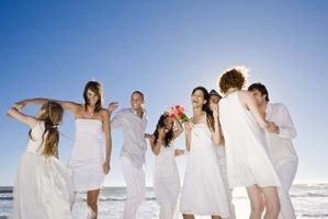 Juegos de boda al aire libre