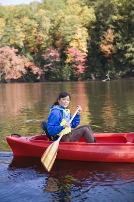 Procedimientos para atar una canoa
