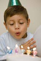 Actividades para el cumpleaños de un niño de siete años con recuerdos