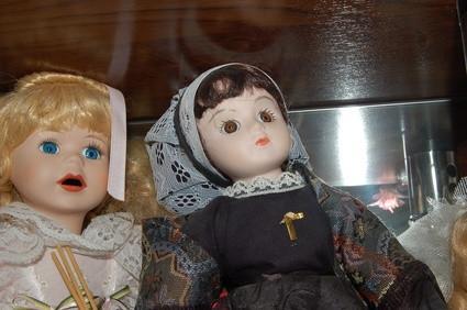 La información sobre las muñecas de porcelana