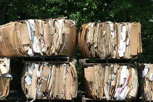 ¿De qué maneras inusuales que la basura se recicla?