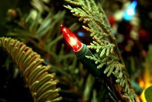 Cómo pintar de Navidad Bombillas