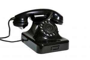 Etiqueta de teléfono para niños