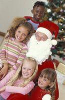 Comer con los dedos típicos para niños durante la Navidad