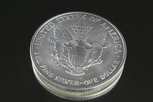 American Eagle de plata Historia Dólar
