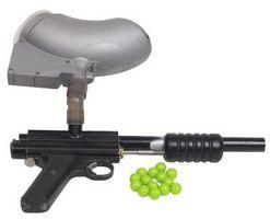 Lo que es cortar en una pistola de paintball?