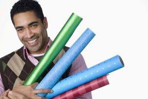 Cómo Envíe Rolls del papel de regalo