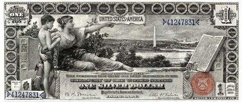 Certificado de plata Información del dinero
