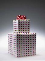 ¿Cómo hacer una demostración del papel de regalo