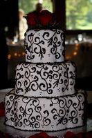 Cómo dibujar pasteles de boda