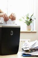 Cómo deshacerse del papel de manera que se pueden reciclar