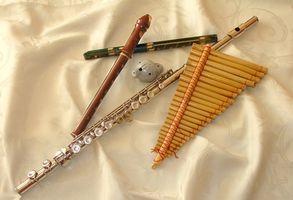 Tipos de pozos abiertos con flautas