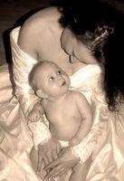 La etiqueta de la boda para bebés