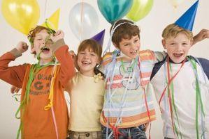 Temas única de la fiesta de cumpleaños para niños