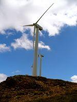 Cómo hacer modelos de turbinas de viento en miniatura